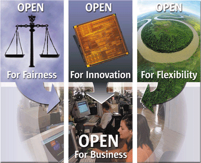 Open for Fairness, Innovation and Flexibility